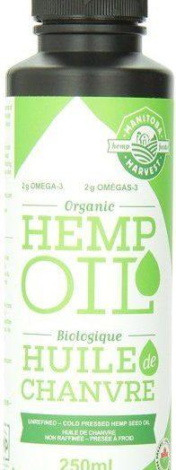 Certified Organic Hempseed Oil