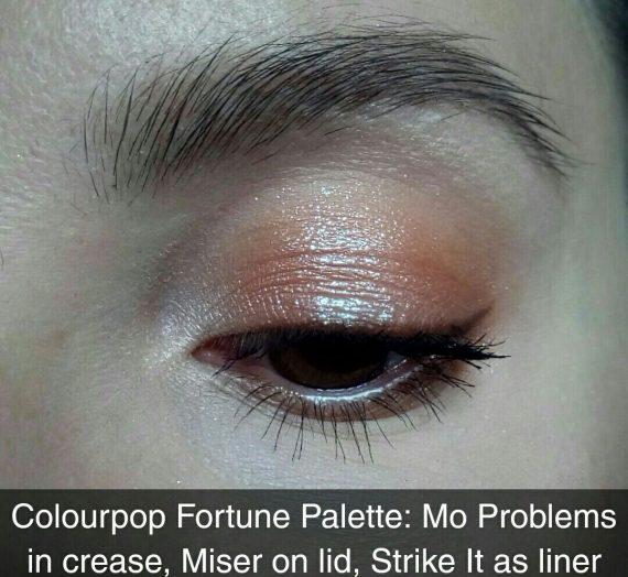 Fortune Pressed Powder Shadow Palette