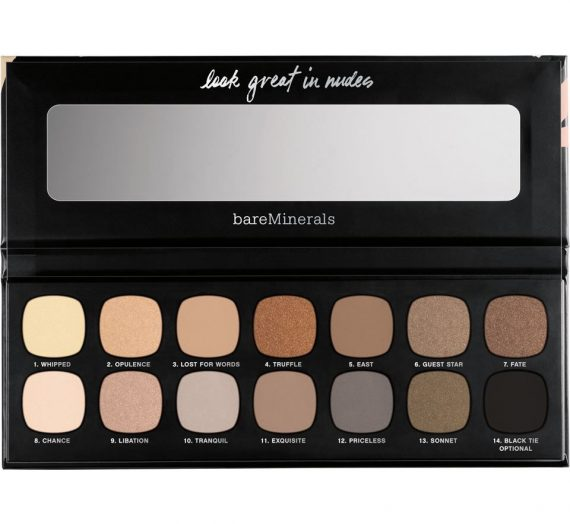 The Nature of Nudes Eyeshadow Palette