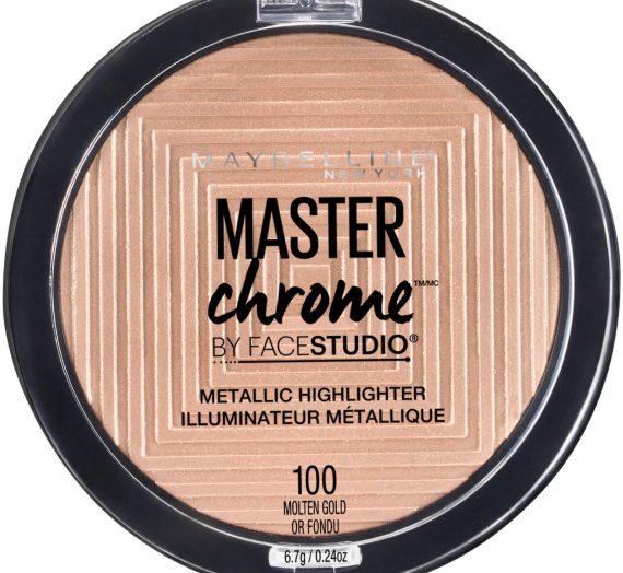 Master Chrome Metallic Highlighter – Molten Peach