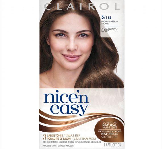 Nice 'n Easy Hair Color – Natural Medium Brown 118