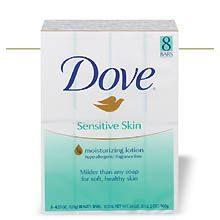 Sensitive Skin Unscented Beauty Bar