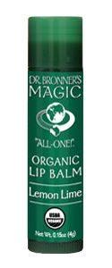 Magic All-One! Organic Lip Balm – Lemon Lime