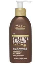 Bronzer Body Tinted Gel (One day)