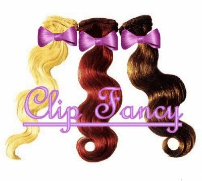 Clip Fancy Hair Extensions