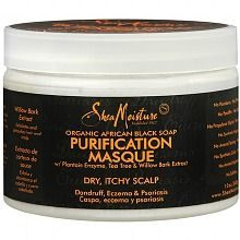 Organic African Black Soap Purification Masque