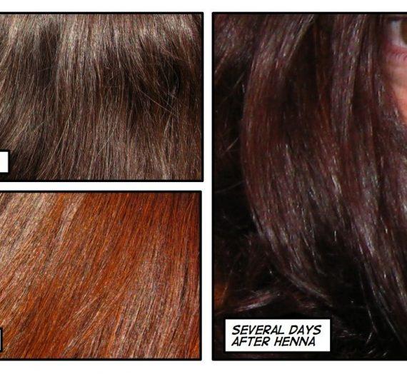 Pure Henna Powder Hair Color