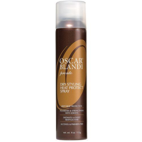 dry styling heat protect spray