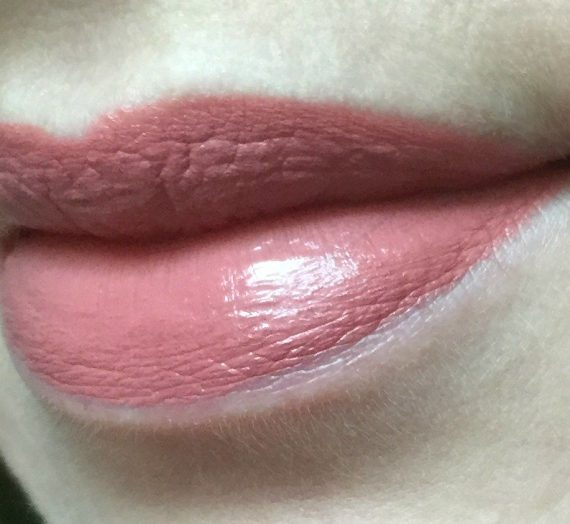 Power of Love lipstick — Nudie Red