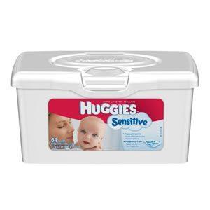 Huggies Gentle Care Sensitive Wipes