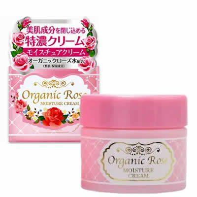 – Meishoku – Organic Rose Moisture Cream