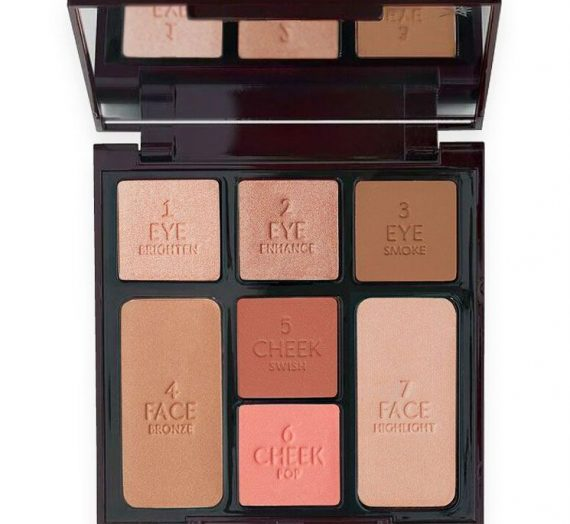 Instant Look in a Palette: Beauty Glow (Rose Gold & Bronze Tones)