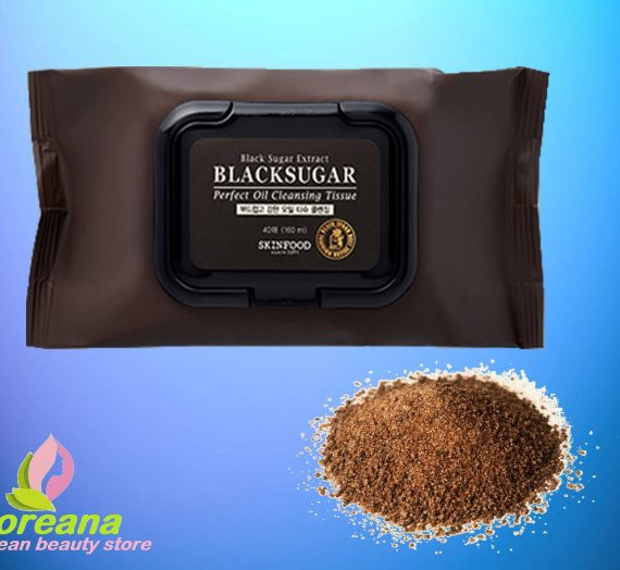 Black Sugar Perfect Oil Cleansing Tissue