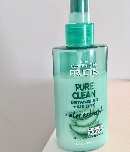 Pure clean detangler + air dry spray