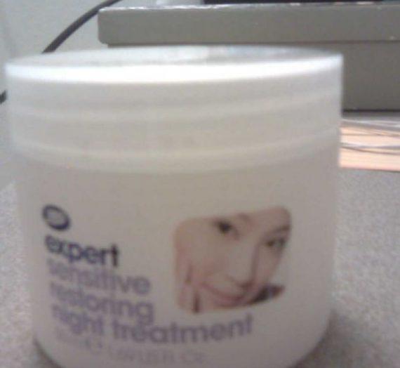 Expert Sensitive Restoring Night Treatment