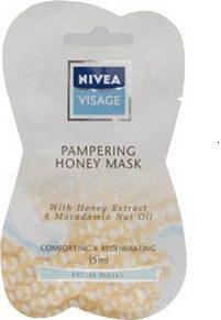 Pampering honey mask