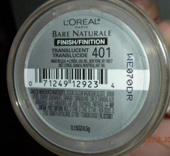 Bare Naturale Soft-Focus Mineral Finish