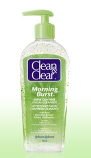 Morning Burst Shine Control Facial Cleanser