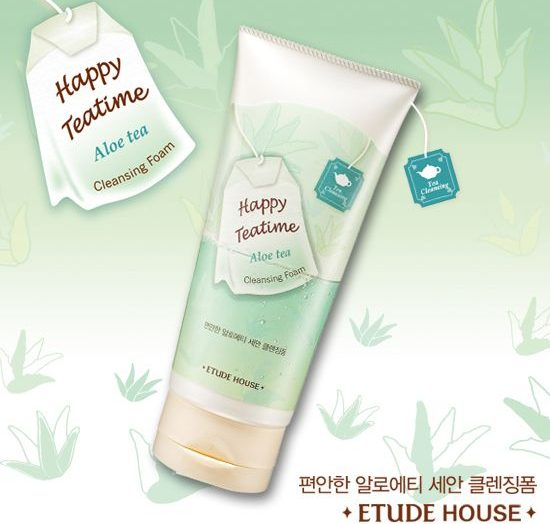 Happy TeaTime Cleansing Foam (All)