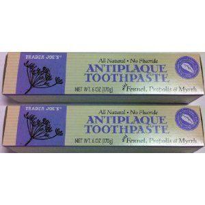 Antiplaque Toothpaste with Fennel, Propolis & Myrrh