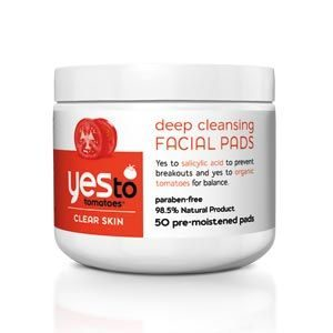 Yes to Tomatoes…Deep Cleansing Facial Pads