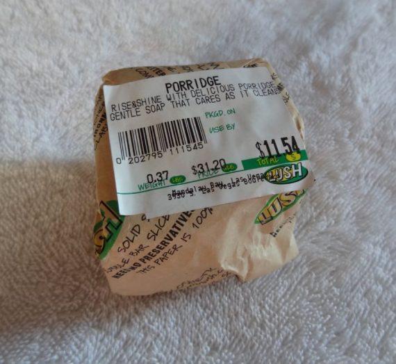Porridge Soap
