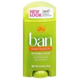 Invisible Solid Antiperspirant Deodorant