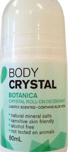 The Body Crystal – Crystal Roll-on Deoderant, Botanica