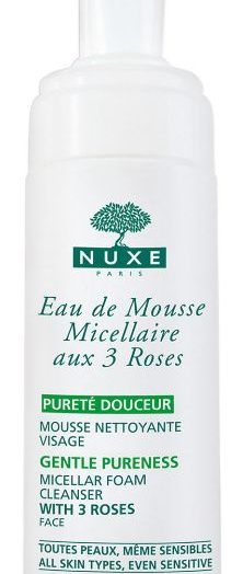 Micellar Foam Cleanser with 3 Roses (Eau de Mousse Micellaire aux 3 Roses)