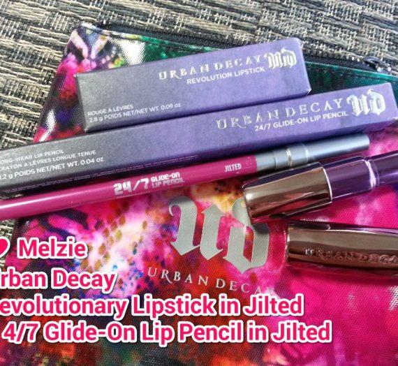 Revolution Lipstick in Jilted