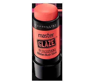 Master Glaze Glisten Blush Stick in Coral Sheen