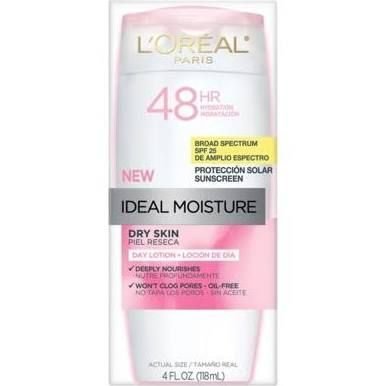 Ideal Moisture 48hr SPF 25 Dry Skin