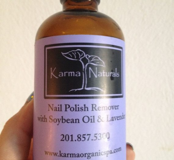 Karma Naturals – Nail Polish Remover with Soybean Oil and Lavender