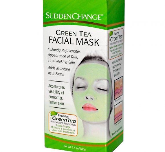 Sudden Change-Green Tea Facial Mask