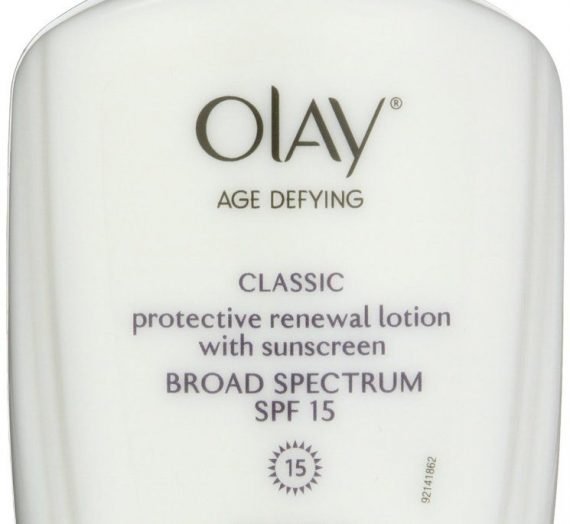 Age Defying Mature Skin Day Lotion with Sunscreen Broad Spectrum SPF 15