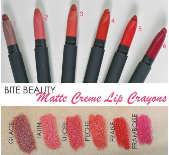 Matte Creme Lip Crayon in Fraise
