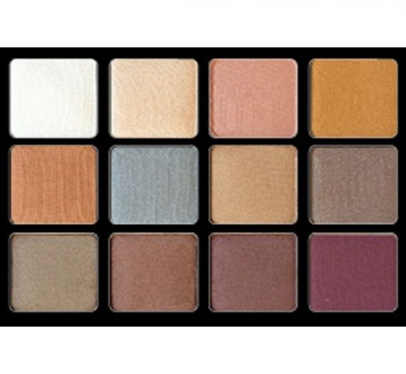 Palette 12 Paupières Eyeshadow Palette Basic: 03 – Pearl