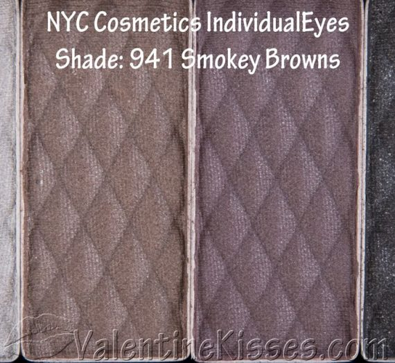 IndividualEyes 941 Smokey Browns palette