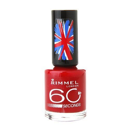 60 Second Polish in Red, Steady, Go (#620)