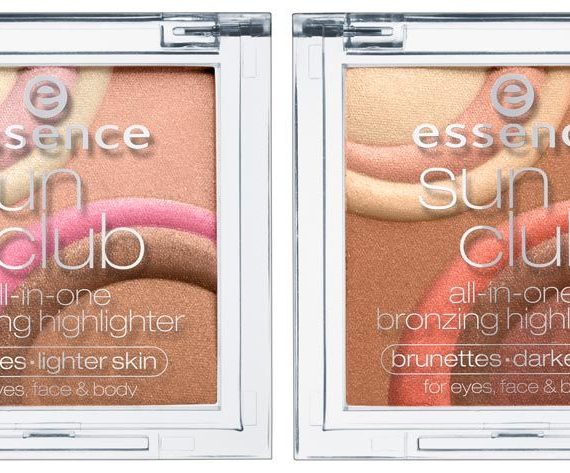 Sun Club all-in-one bronzing highlighter