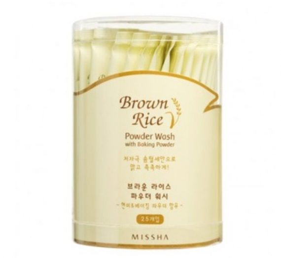 Brown Rice Powder Wash with Baking Powder