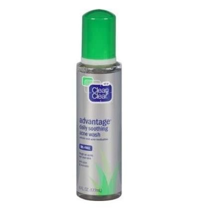 Advantage Daily Soothing Acne Wash