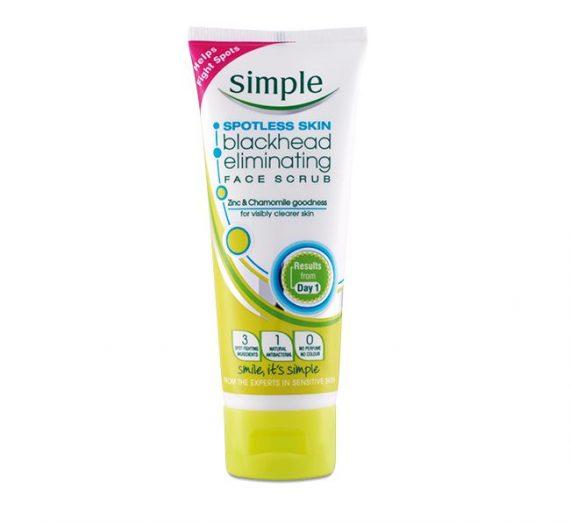 Spotless Skin Blackhead Eliminating Face Scrub