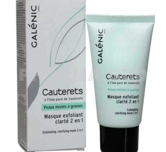 Cauterets Exfoliating Clarifying Mask 2 in 1