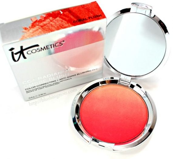 CC + Radiance Ombre Blush in Coral