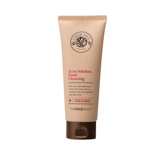 Clean Face Acne Solution Foam Cleanser