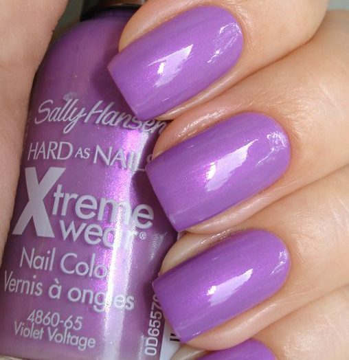 Hard as Nails Xtreme Wear in Virtual Violet