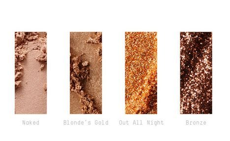 Irresistibly charming glitters and pigments/ Gold