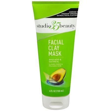 Facial Clay Mask Avocado and Oatmeal