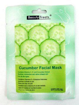 Beauty Treats – Cucumber Facial Mask